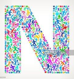 lettre n fitness sports et motif de fond vecteur de sport clipart vectoriel [ 982 x 1024 Pixel ]