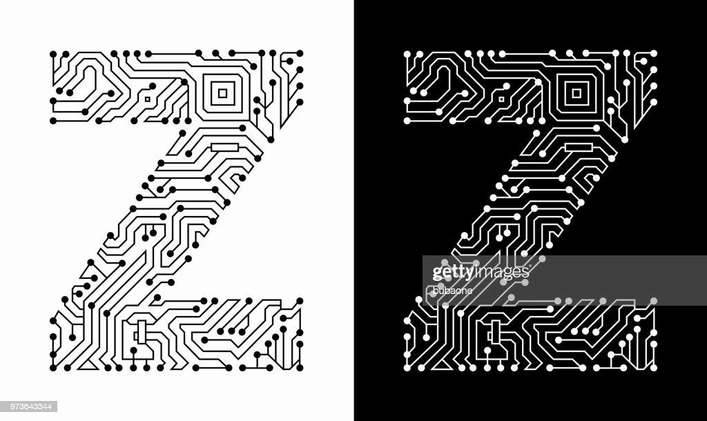 Circuit Board Font Dafontcom