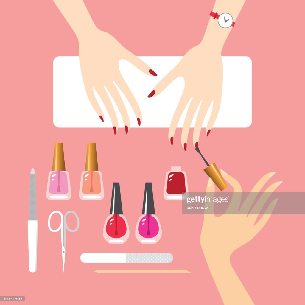 world's manicure stock illustrations