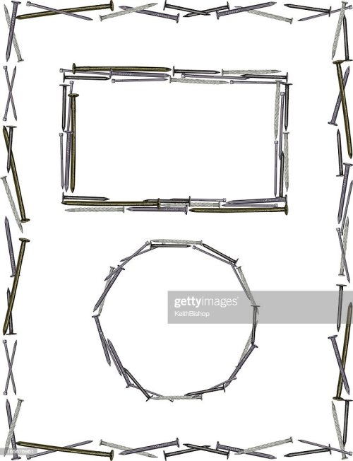 small resolution of nail frame construction background stock illustration