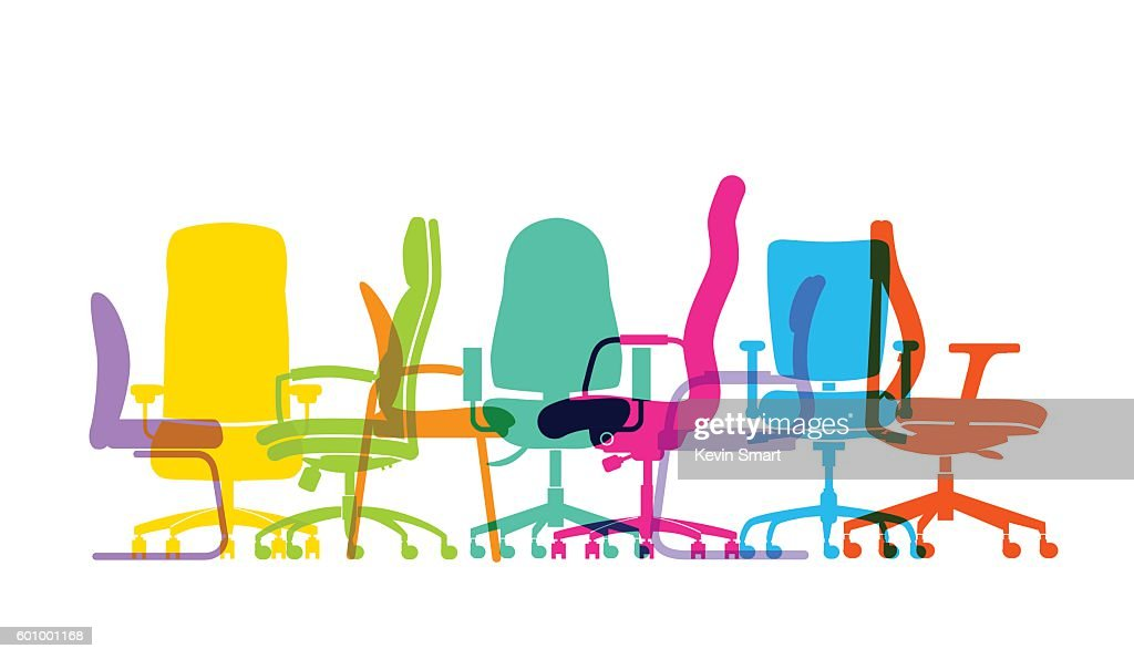 office chair illustration used waiting room chairs stock illustrations and cartoons
