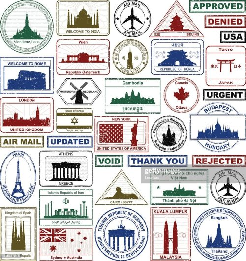 small resolution of passport stamps
