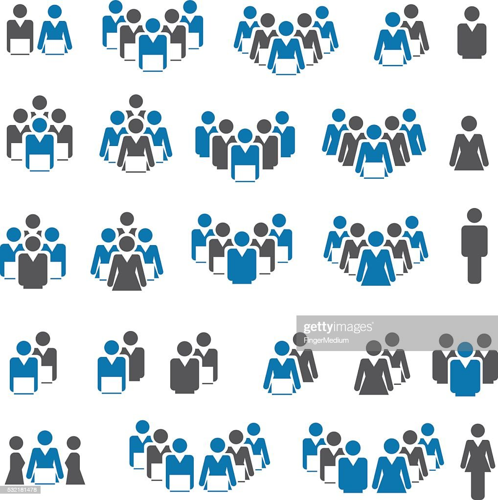 Organizational Development Clip Art Stock Illustrations