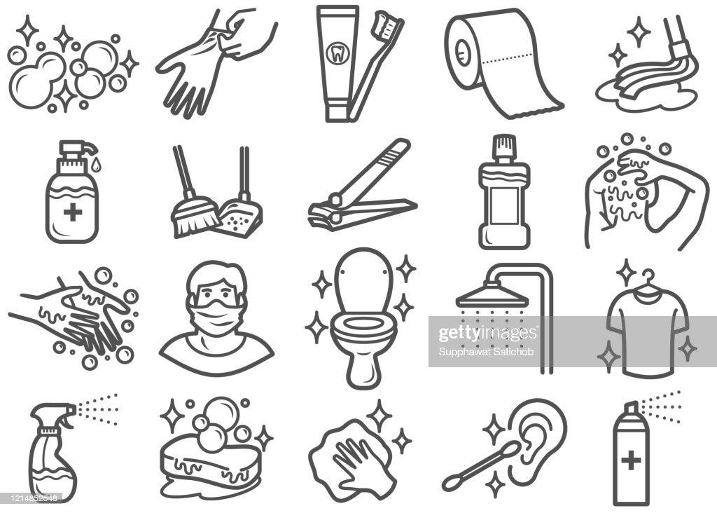 68 se laver les cheveux illustrations getty images