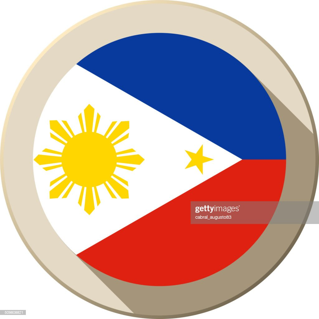 Tribal Philippine Flag Vector