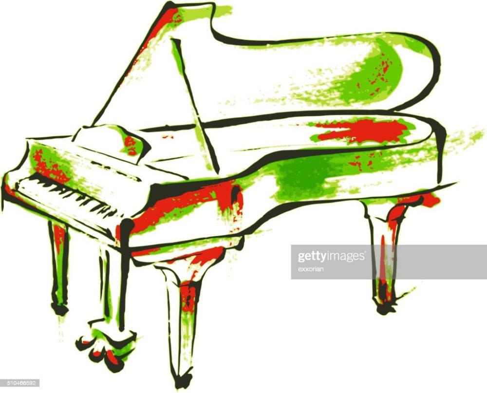 medium resolution of piano painting