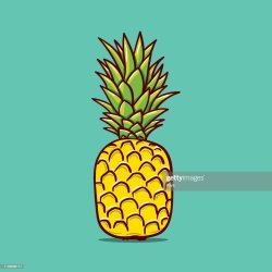 Pineapple Outline Illustration Vector Doodle Sketch Hand Drawn Illustration High Res Vector Graphic Getty Images