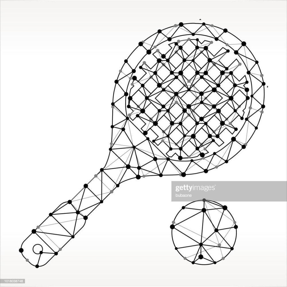 medium resolution of racquetball triangle noeud noir et blanc motif clipart vectoriel