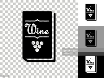 Restaurant Wine Menu Icon On Checkerboard Transparent Background High Res Vector Graphic Getty Images