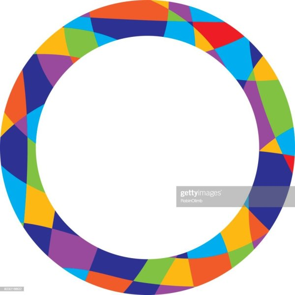 Colorful Abstract Frame Vector Art Getty