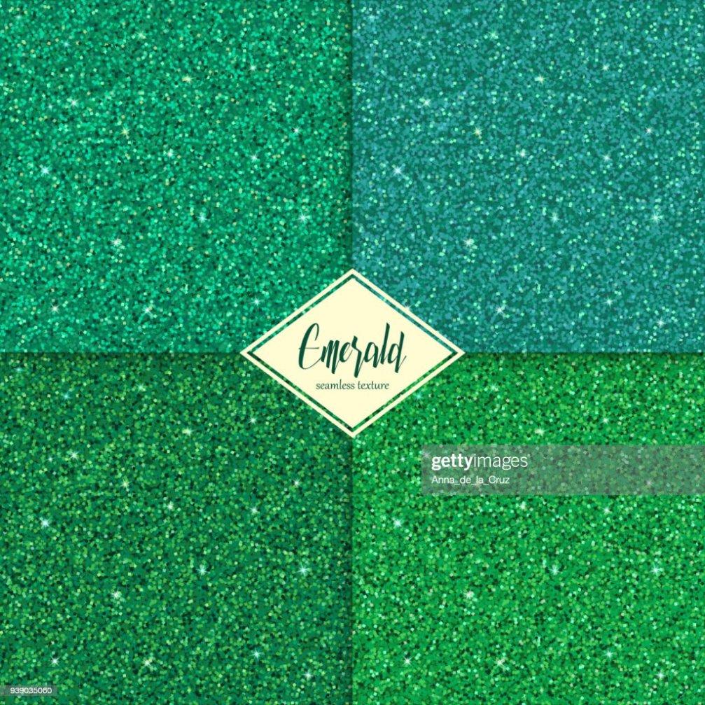 set of emerald texture