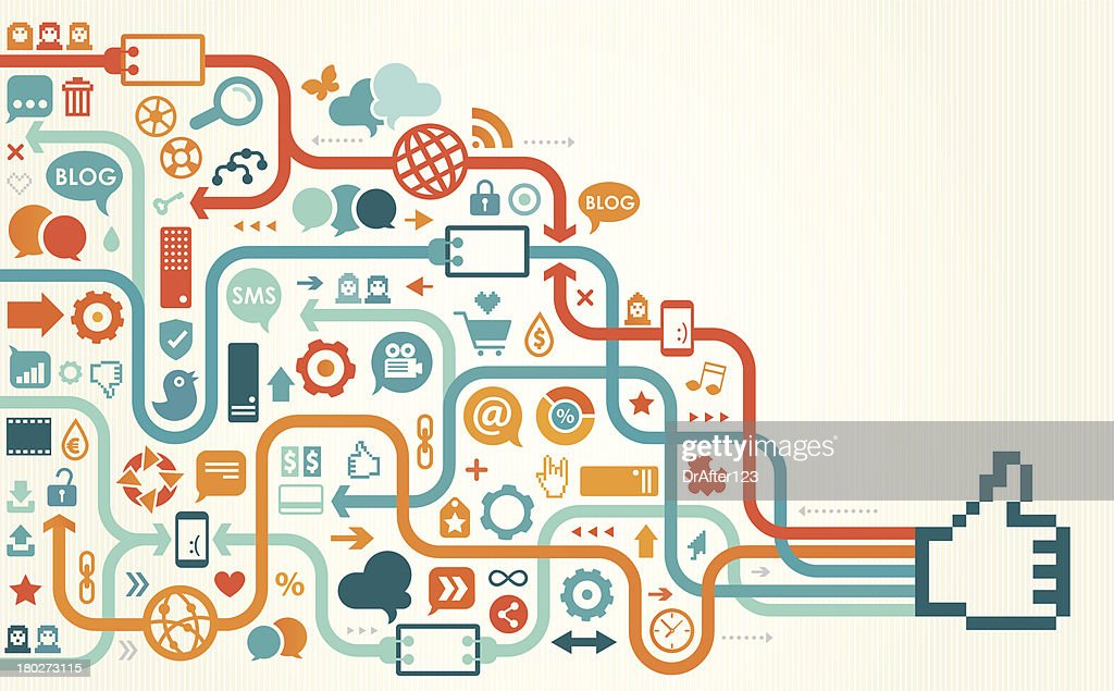 social media like linear