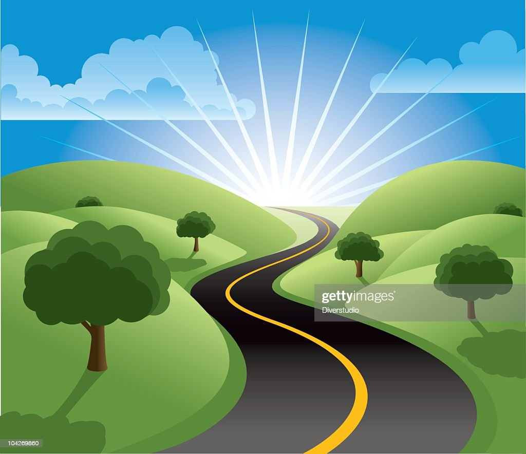 hight resolution of the road to prosperity