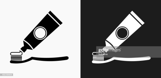 brush paste icon vector tooth toothbrush toothpaste teeth illustrations illustration clip graphics backgrounds brushing royalty vectors getty music