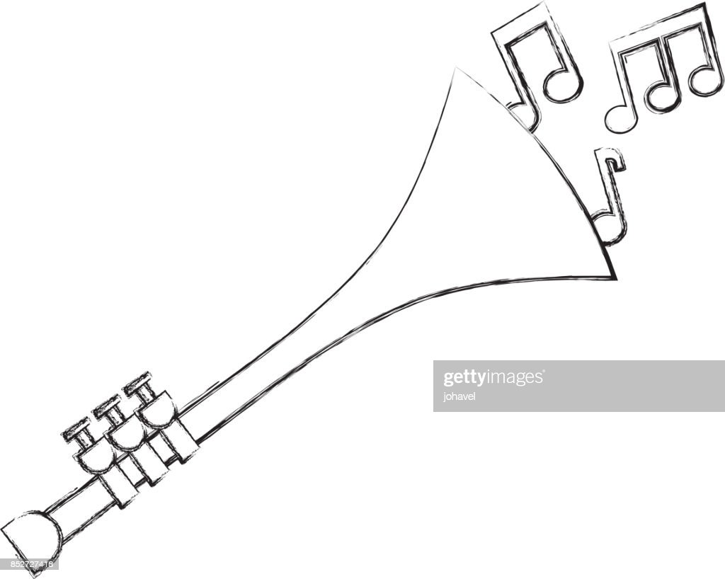 hight resolution of trumpet notes wind musical instrument horn