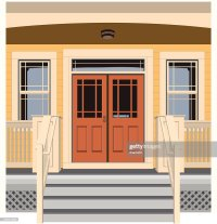 Porch Stock Illustrations And Cartoons | Getty Images