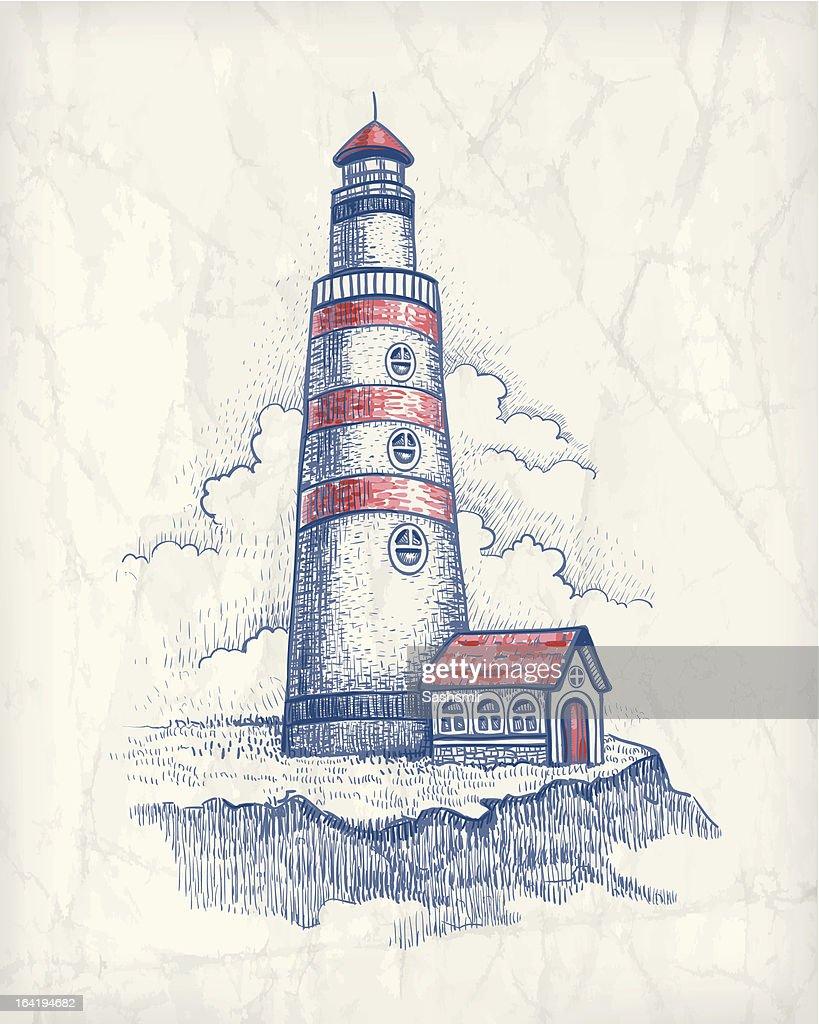 Illustrazione Vettoriale Di Faro arte vettoriale  Thinkstock