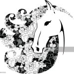 Vector Silhouette Of A Horse Head High Res Vector Graphic Getty Images