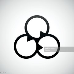 Vector Venn Diagram S Wiring Icon On A White Background Art Getty
