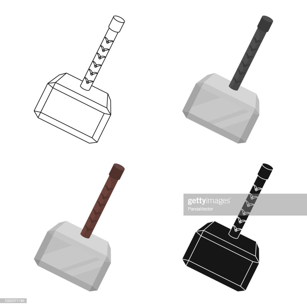 Free Thor Hammer Clipart And Vector Graphics Clipart Me