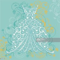 Wedding Dress Vector Art | Getty Images