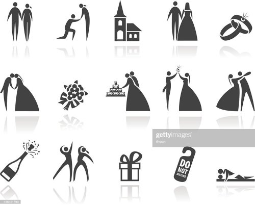 small resolution of wedding icons