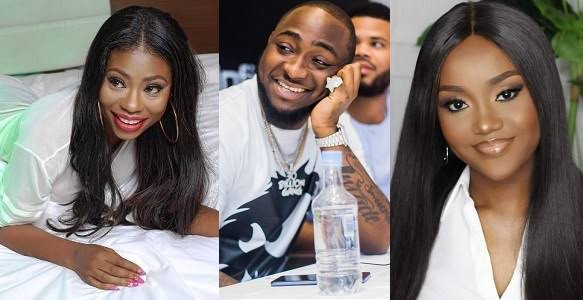 Davido snubs Chioma on her sick bed, hangs out with his ex and daughter