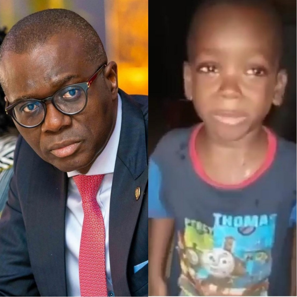 Lagos Governor, Jide Sanwo-Olu To Meet Little Boy Who Asked His ...