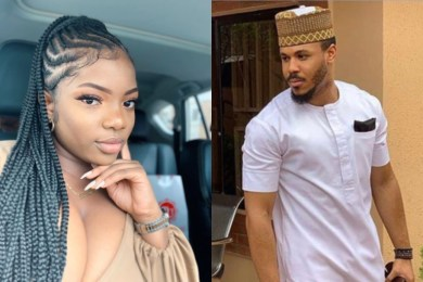 BBNaija 2020: Another drama as Dora fires Ozo for helping Nengi in the bathroom