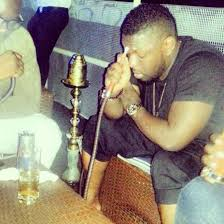 See Nigerian Entertainers That Can't Do Without Smoking