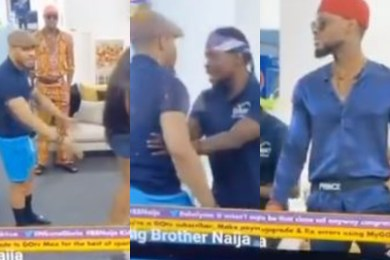 BBNAIJA 2020: Ozo clashes with Prince during their drama practice (video)