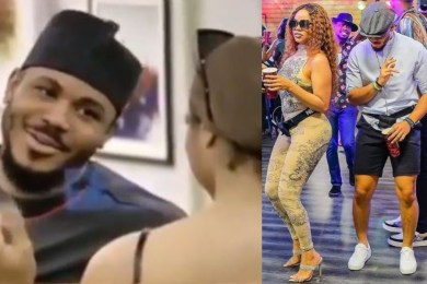 "BBNaija 2020: Nengi Tells Ozo ""If You Leave, I Will Cry And Fill Buckets"" (Video)"