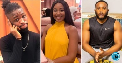 BBNaija: See Laycon's Reactions When Kiddwaya Was Dared To Suck Erica's Bo0bs