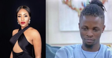 BBNaija 2020: Erica Loses Her Cool, Settles Scores With Laycon - VIDEO