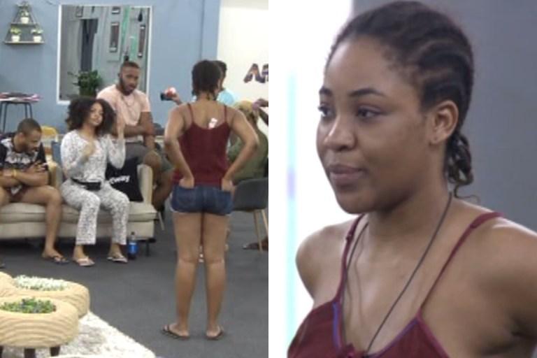 BBNaija: Erica tenders an apology after her drama last night