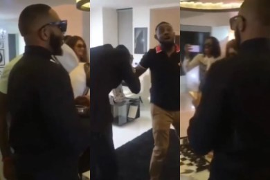 BBNaija: Kiddwaya Attends 2Baba's Birthday In Grand Fashion And Style (Video)