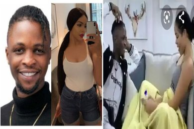 "BBNaija 2020: ""The Only Time I Touch Pants Is When I'm Taking It Off"" – Laycon Tells Nengi"