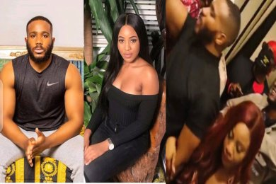 BBNaija couple Erica and Kiddwaya spotted together at a party last night (PHOTOS)