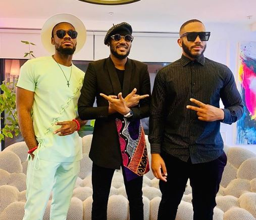 "#BBNAIJA: ""The Three Wise Men""- Fans React As Prince Shares A Photo With 2Baba And Kiddwaya"