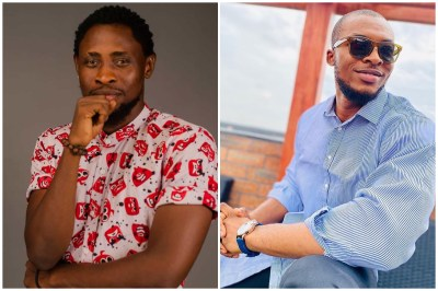 BBNaija 2020: TrikyTee and Eric caught fighting a guy in public because of 5k (Video)