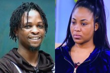 "BBNaija 2020: Laycon Mocks Erica - ""We're Finalists, We Don't Roll With People That Have Been Disqualified"" (Video)"