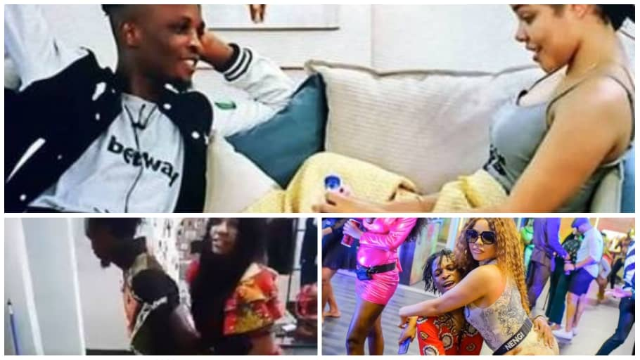 BBNaija: You Will Never Guess What Nenji And Laycon Was Caught Doing - GH Gossip