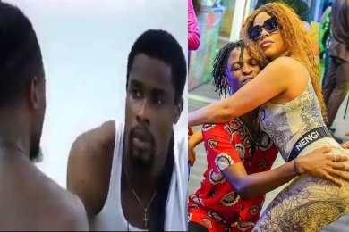 BBnaija 2020: After a DANCE with Nengi this morning, wee what Laycon told Neo about her