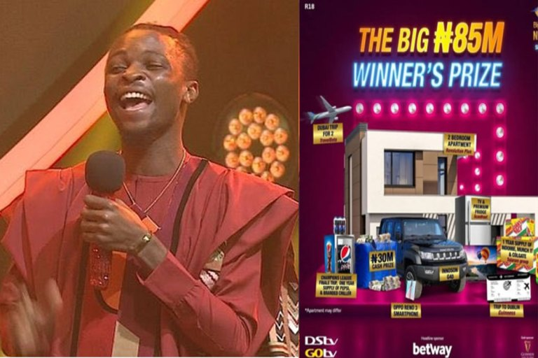 #BBNAIJA: It's Not A Dream Sha - Laycon Says As He Thank His Fans For Their Support