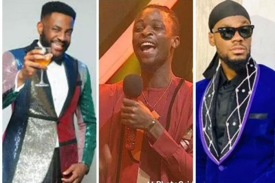 See What Prince Wanted To Give Laycon But Ebuka Prevented Him During BBNaija After Party