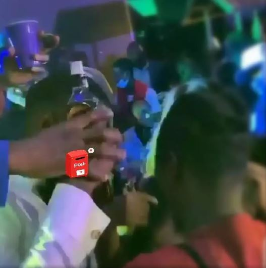 See What Prince Wanted To Give Laycon But Ebuka Prevented Him During #BBNAIJA After Party