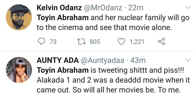 "Toyin Abraham Incurs WRATH Of Nigerians For Saying ""Should I Leave My Movie Because Of SARS"""