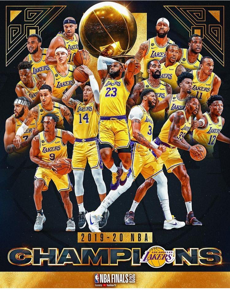 This Is For Kobe- Lakers Win 2020 NBA Championship