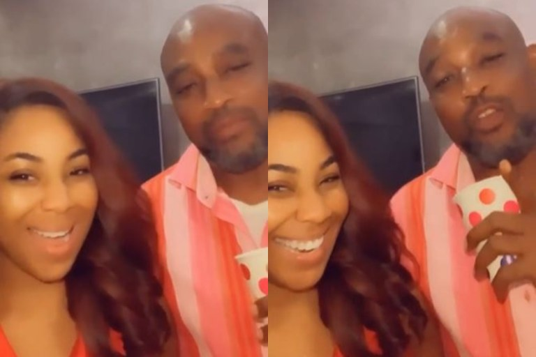"""She Is The Most Beautiful Girl In Africa,"" Says Erica's Father After Meeting Her For The First Time (Video)"