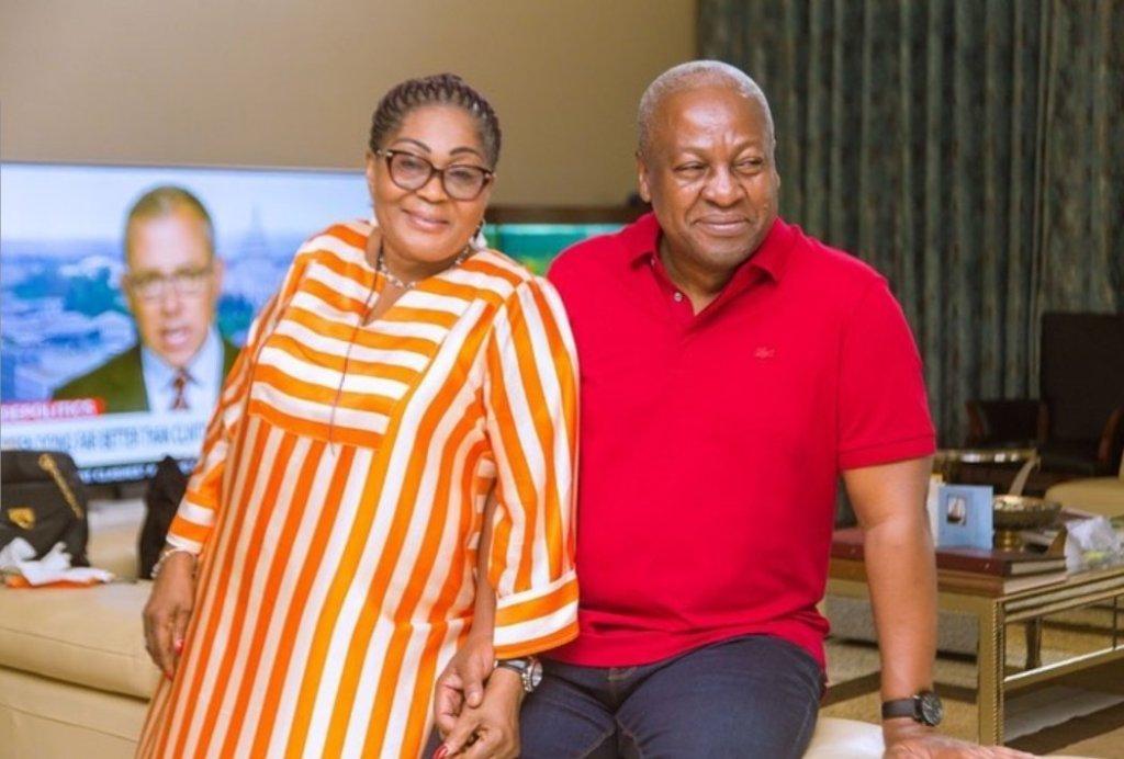 Lordina Mahama and husband John Mahama